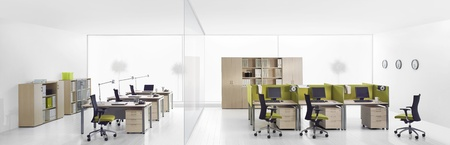 modern office interior: business