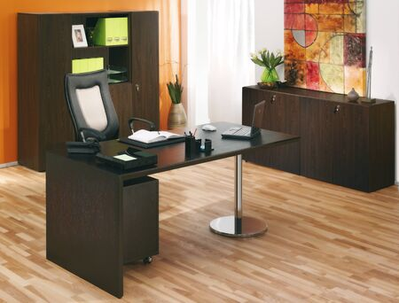 interior layout: office Stock Photo