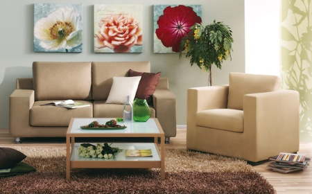 modern living room Stock Photo - 12525754
