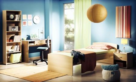 子供 s の寝室