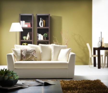 comfortable: modern living room
