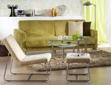 modern living room Stock Photo - 12541673