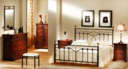 classic bedroom photo