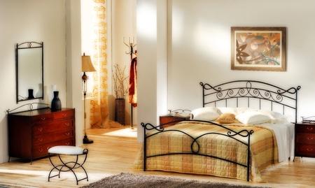 古典的な寝室