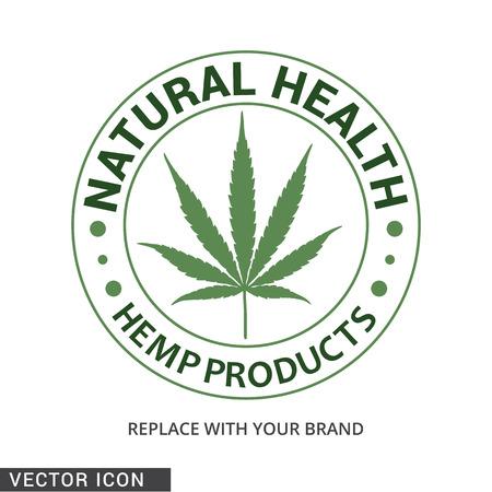 Logotipo de productos de cáñamo Logos