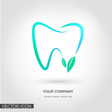 TOOTH VECTOR ICONLOGO, DENTAL HEALTH, DENTIST LOGO TEMPLATE