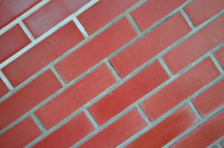 Red brick brick texture. background with red brick
