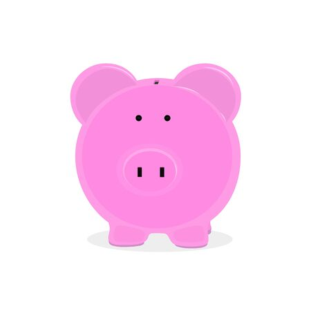 piggy bank money,wealth, business vector Illustration