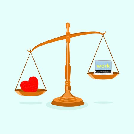 vector Work and heart on an unbalanced scales Working concepts should take care of health too