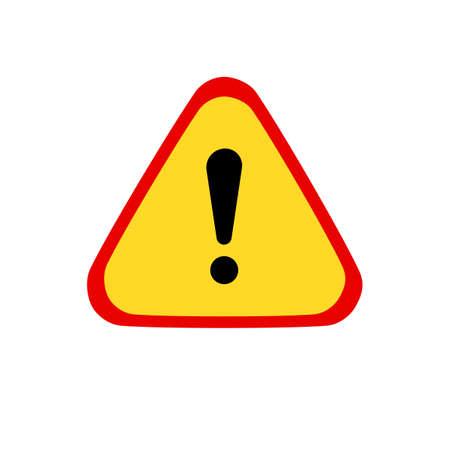 Warning icon sign Symbol.logo for web.vector illustration eps