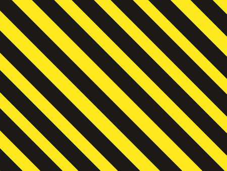 Grunge Black and yellow Surface as Warning or Danger background.vector illustration eps