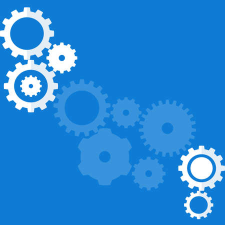 Gear wheel or cog back ground. Mechanism back ground.There is space to put text Vectores
