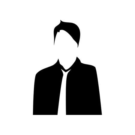 person icon.business people.isolated on a white background.Vector illustration eps Vectores