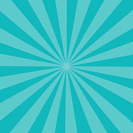 soft light Blue color sunburst background. Vector illustration. eps Vector Illustratie