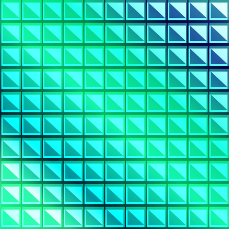 overnight: Abstract mosaic background pattern of squares and triangles
