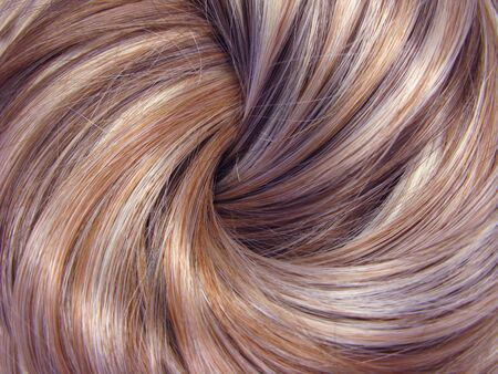 highlight hair texture abstract background Stock Photo - 11225653