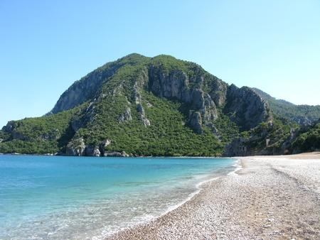 mediterranean sea landscape olympos turkey