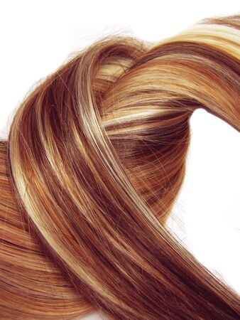 highlight hair texture abstract background Stock Photo - 11331647