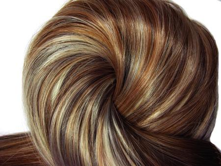 Evidenziare le texture sfondo astratto dei capelli Archivio Fotografico - 11331654