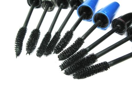black mascara for make up isolated photo