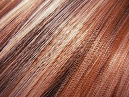 red highlight hair texture abstract background Stock Photo - 11495444