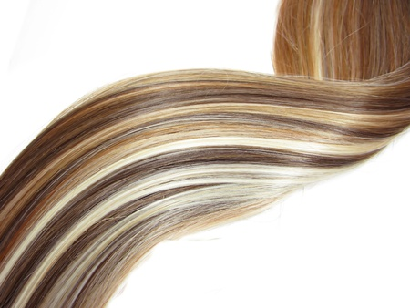 highlight hair texture abstract background Stock Photo - 11851079