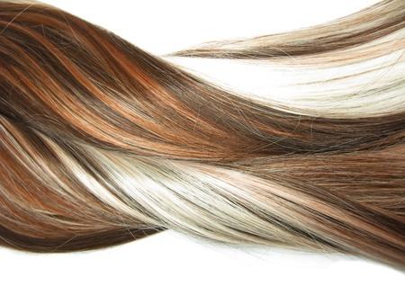 Evidenziare le texture sfondo astratto dei capelli Archivio Fotografico - 11851083