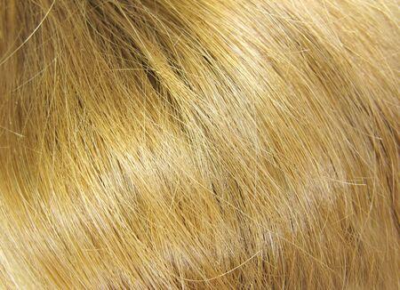 gingery: shiny gingery hair as background  Stock Photo