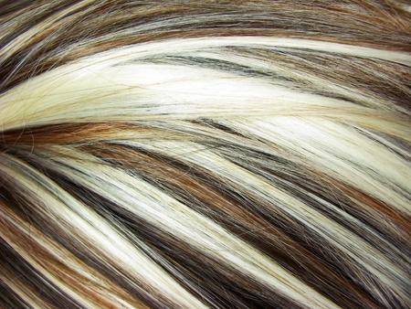 Evidenziare le texture sfondo astratto dei capelli Archivio Fotografico - 11921152