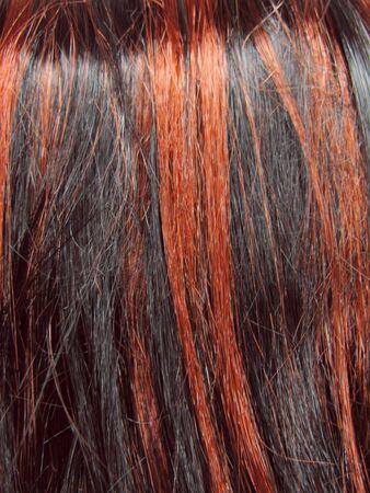 streaking: dark highlight hair texture abstract background