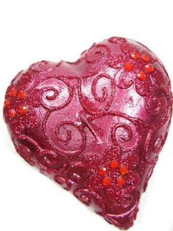 bougie coeur: rose bougie spa coeur ar�me pr�sente comme souvenir isol�