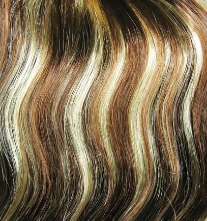 Evidenziare le texture sfondo astratto capelli Archivio Fotografico - 12024031