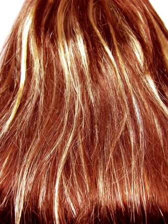 gingery: gingery highlight hair texture abstract background