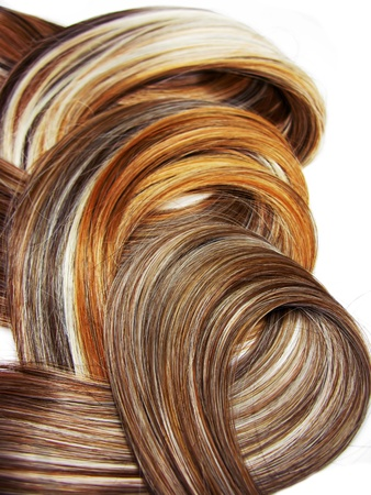 highlight hair texture abstract background photo