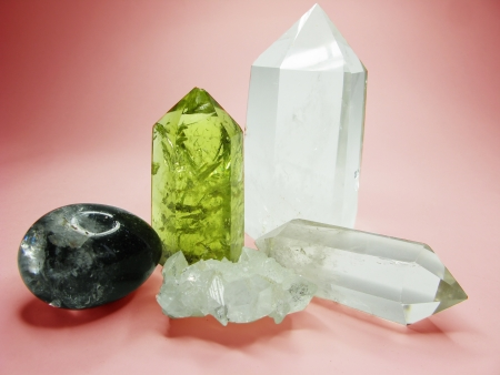 quartz citrine semigem geode crystals geological mineral isolated