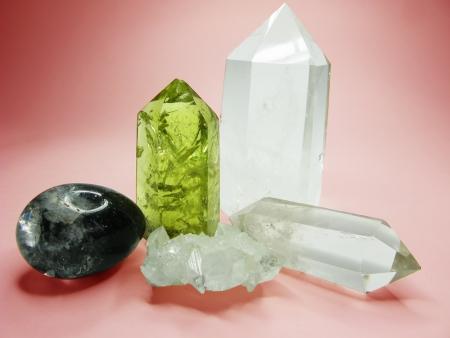 Quarzo citrino semigem geode minerale cristalli geologico isolato Archivio Fotografico - 16282008