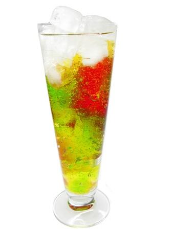 cruchon: c?cteles sin alcohol Cruchon con hielo y menta