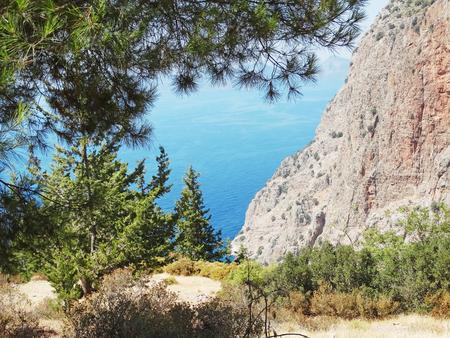 fethiye: butterfly valley high view canyon fethiye turkey