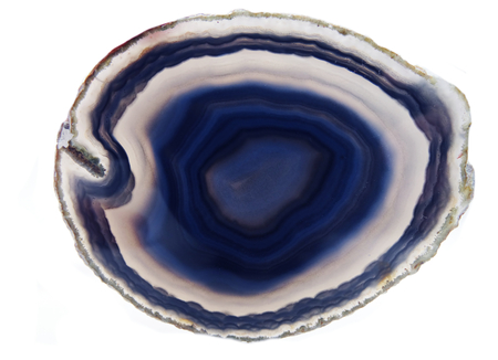 chalcedony: agate chalcedony semigem geode crystals geological mineral isolated