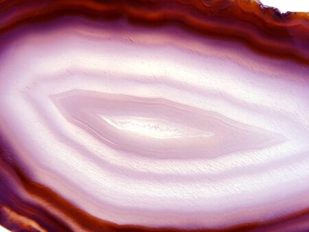 chalcedony: agata calcedonio semigem cristalli geode minerale geologico isolato Archivio Fotografico
