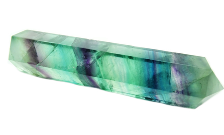 fluorite: fluorite semigem geological crystal isolated