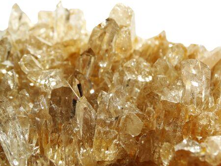 geode: natural quartz semigem geode crystals geological mineral