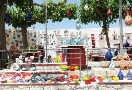 vasi greci: greek traditional ceramic shop on Crete Greece