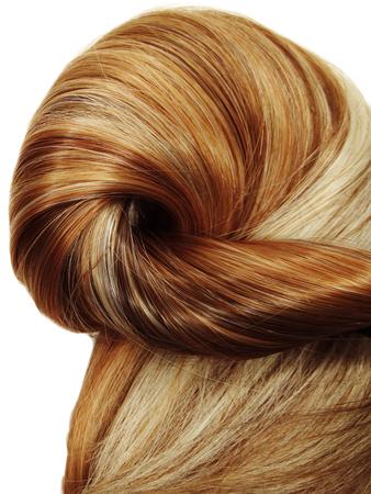 textura pelo: destacado la textura del cabello resumen de antecedentes Foto de archivo