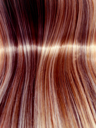 ringlets: highlight hair texture abstract background