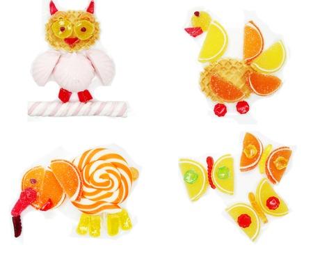 creative marmalade candy sweet child dessert