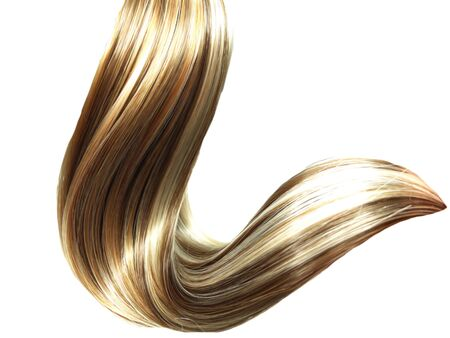 ringlets: highlight hair texture abstract fashion background