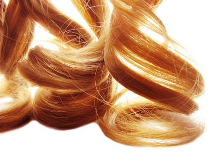 hair texture blond curly abstract fashion style background