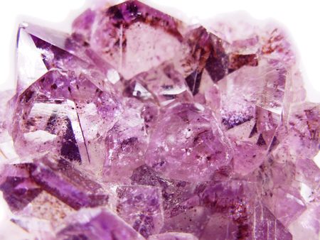 amethyst natural quartz blue gem geological crystals texture background