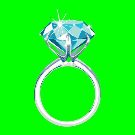 finger ring: Diamond ring